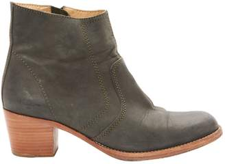 A.P.C. Leather ankle boots