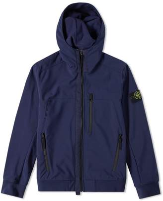 Stone Island Hooded Soft Shell-R Jacket