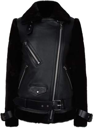 AllSaints Alto Shearling Jacket