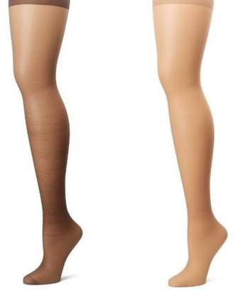 Hanes Women's Plus-Size Control Top Enhanced Toe Pantyhose