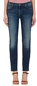 J Brand Women's Maude Mid-Rise Cigarette Jeans-Dk. Blue