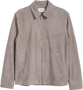 H&M Suede Shirt Jacket - Brown