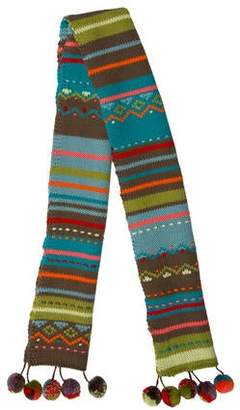 Catimini Striped Knit Scarf