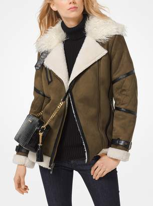 MICHAEL Michael Kors Faux-Shearling Jacket