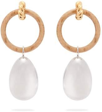 Balenciaga Hoop and pendant earrings