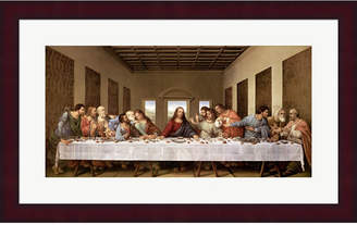 Leonardo Metaverse The Last Supper By Da Vinci Framed Art