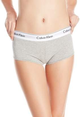 Calvin Klein Women's Modern Cotton Short, Grey Heather