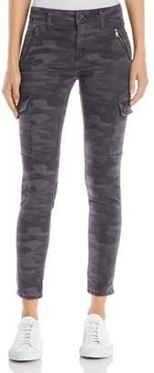 Mavi Jeans Juliette Skinny Cargo Jeans in Smoke Camo