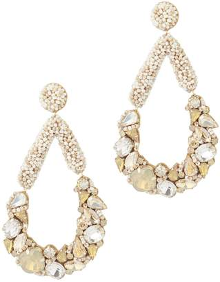 Deepa Gurnani Ettore Chandelier Earrings mFqDr4