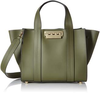 Zac Posen Eartha Iconic Small Shopper Moss