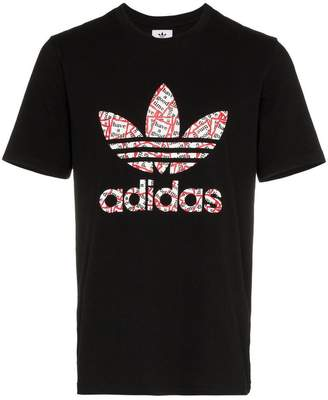 adidas x Have a Good Time logo print cotton t-shirt