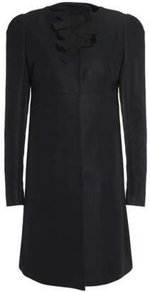 Rochas Bead-Embellished Cotton-Blend Coat