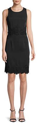 LORI MICHAELS Sleeveless Lace Dress