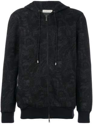 Etro zipped hoodie