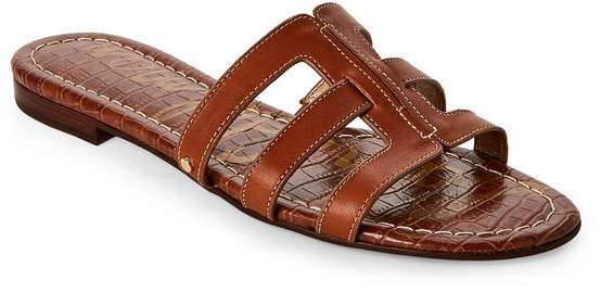 sam edelman Saddle Berit Flat Slide Sandals