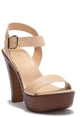 Italian Shoemakers Ariela Block Heel Sandal