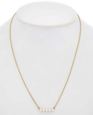 Downtown East 14K Yellow Gold Filled Bar Necklace