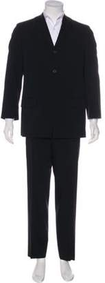 Dries Van Noten Wool Two-Piece Suit black Wool Two-Piece Suit