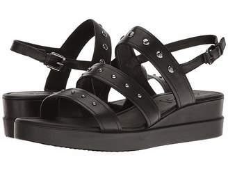 Ecco Touch Strap Plateau Women's Sandals
