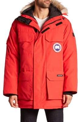 Canada Goose Expedition Coyote Fur-Trimmed Jacket
