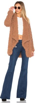 Tularosa x REVOLVE Teddy Shag Coat $198 thestylecure.com