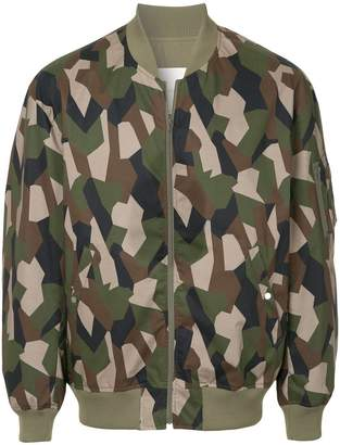 MACKINTOSH camouflage bomber jacket