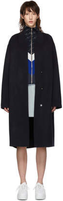 Stella McCartney Navy Wool Coat