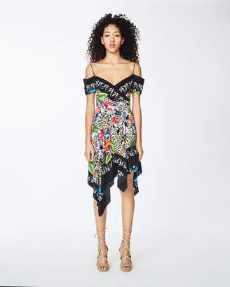 Nicole Miller Amazon Scarf Dress