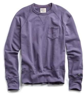 Todd Snyder + Champion Classic Pocket Sweatshirt in Lavender