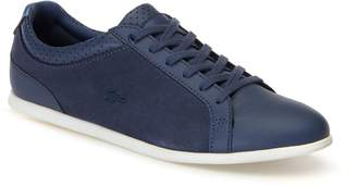 Lacoste Women's Rey Leather and Suede Trainers