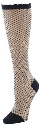 Natori Diamond Trellis Knee High Socks