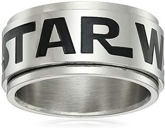 Star Wars Jewelry Logo Stainless Steel Spinner Men's Ring
