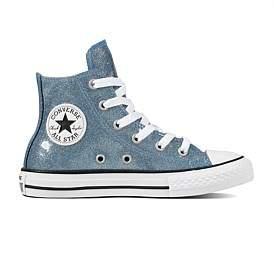 Converse Autumn Glitter Hi Blue