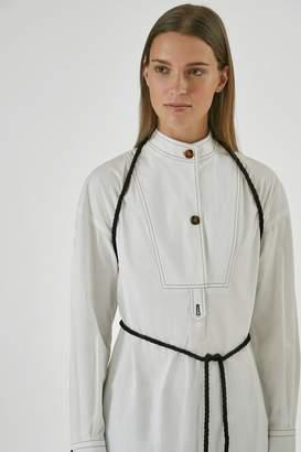 Yigal Azrouel Henry Neck Shirt Dress