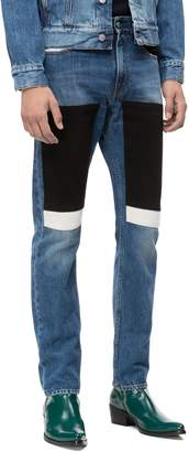 Calvin Klein Jeans Slim Fit Colorblock Jeans