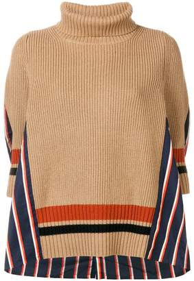 Sacai turtle neck sweater