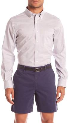 Hickey Freeman Front Button Stretch Pocket Classic Fit Shirt