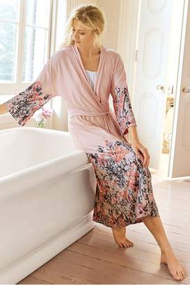 Soft Surroundings Women Soft Floral Robe