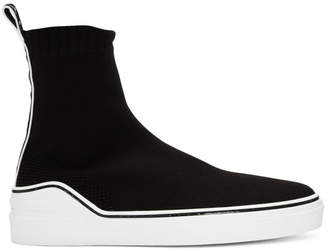 Givenchy Black and White George V Sock Sneakers
