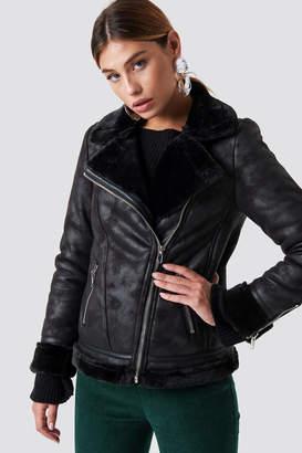 Glamorous Perfect Bike Jacket Black