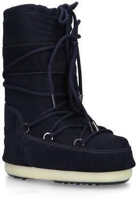 Yves Salomon x Moon Boot Suede Après-Ski Boots