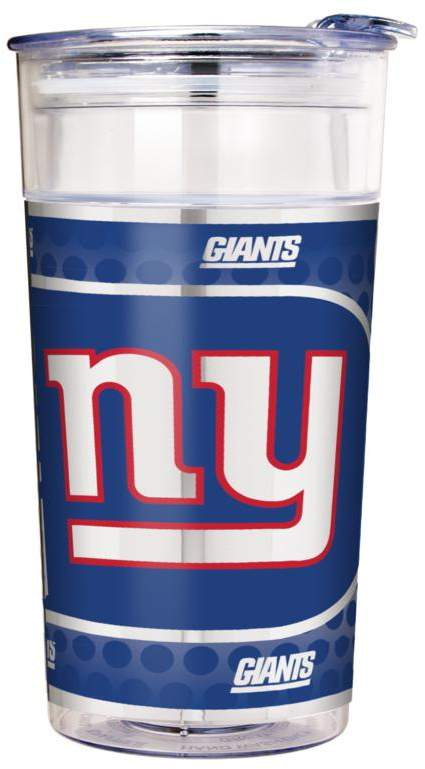 Officially Licensed NFL 22 oz. Double Wall Acrylic Party Cup - New York Giants