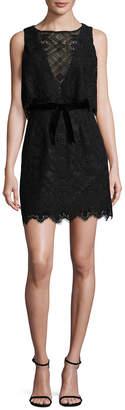 Anna Sui Lace Short Dress