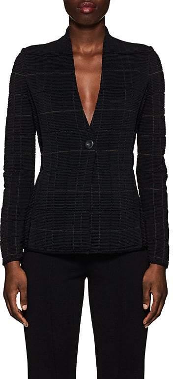 Women's Ottoman-Knit Jacket