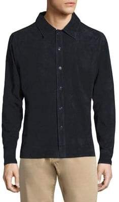 Corneliani Suede Shirt