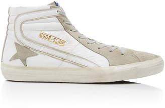 Golden Goose High-Top Slide Sneakers