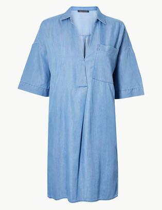 Marks and Spencer Patch Pocket Shift Dress