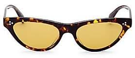 Oliver Peoples Women's 53MM Zasia Cat Eye Sunglasses