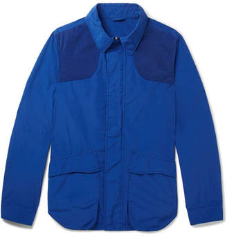Aspesi Contrast-Trimmed Shell Field Jacket