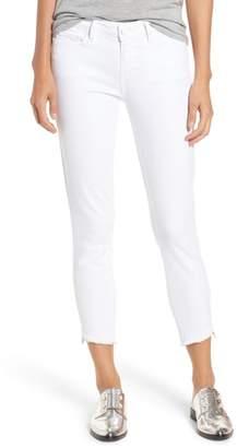 Paige Verdugo Slanted Crop Skinny Jeans